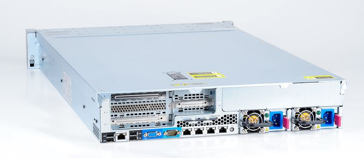 HP ProLiant DL380e Gen8 Storage Server 2x Xeon E5-2403 Quad Core 1.80 GHz, 16 GB DDR3 RAM, 2x 300 GB SAS 10K – Bild 8