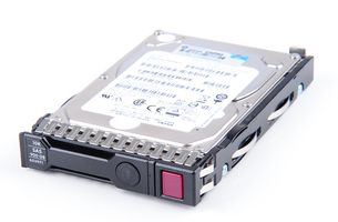 "HPE 900GB 6G 10K SAS 2.5"" SFF Hot Swap Festplatte / Hard Disk mit Smart Carrier - 653971-001 / 652589-B21"