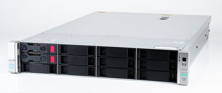 HPE ProLiant DL380 Gen9 Server 2x Xeon E5-2650v3 10-Core 2.30 GHz, 16 GB DDR4 RAM, 2x 1000 GB SAS 7.2K – Bild 1