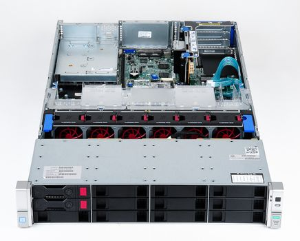 HPE ProLiant DL380 Gen9 Server 2x Xeon E5-2650v3 10-Core 2.30 GHz, 16 GB DDR4 RAM, 2x 1000 GB SAS 7.2K – Bild 3