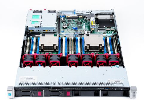 HPE ProLiant DL360 Gen9 Server 2x Xeon E5-2620v3 Six Core 2.40 GHz, 16 GB DDR4 RAM, 2x 1000 GB SAS  – Bild 6