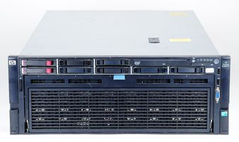 HP ProLiant DL580 G7 Server 4x Xeon E7-4860 10-Core 2.26 GHz, 1 TB DDR3 RAM, 2x 300 GB SAS 10K