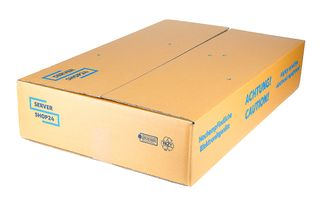 Servershop24 packaging for 1HU / 2HU rack machines