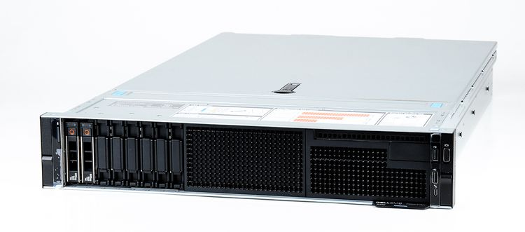 DELL EMC PowerEdge R740 Server 2x Xeon Silver 4114 10-Core 2.20 GHz, 16 GB DDR4 RAM, 2x 300 GB SAS 10K – Bild 1