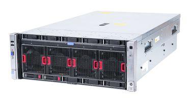 HP ProLiant DL580 Gen8 V2 Server 2x Xeon E7-8880v2 15-Core 2.50 GHz, 128 GB DDR3 RAM, 2x 300 GB SAS 10K