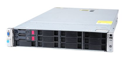 HP ProLiant DL380p Gen8 V2 Server 2x Xeon E5-2603v2 Quad Core 1.80 GHz, 16 GB DDR3 RAM, 2x 1000 GB SAS 7.2K