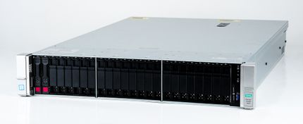 HPE ProLiant DL380 Gen9 V3 Server 2x Xeon E5-2680v3 12-Core 2.50 GHz, 16 GB DDR4 RAM, 2x 300 GB SAS 10K
