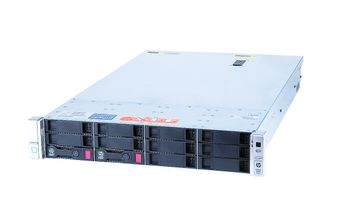 HPE ProLiant DL380 Gen9 V3 Entry Server with 1x Xeon E5-1603v3 Quad Core 2.80 GHz, 16 GB DDR4 RAM, 2x 2 TB SATA 7.2K