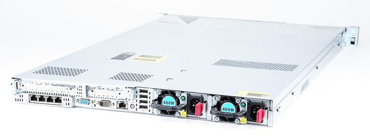 HP ProLiant DL360p Gen8 Server 2x Xeon E5-2609 Quad Core 2.40 GHz, 16 GB DDR3 RAM, 2x 1000 GB SAS 7.2K – Bild 4