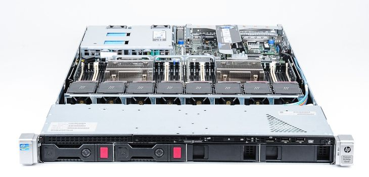 HP ProLiant DL360p Gen8 Server 2x Xeon E5-2609 Quad Core 2.40 GHz, 16 GB DDR3 RAM, 2x 1000 GB SAS 7.2K – Bild 6