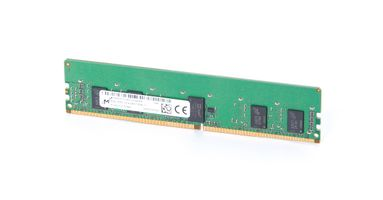Micron 8GB 1Rx8 PC4-2400T-R DDR4 Registered Server-RAM Modul REG ECC - MTA9ASF1G72PZ-2G3B1RK