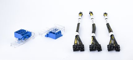 HPE GPU Power Cable Kit / PCIe-Stromkabel, 1x 8-pin & 1x 6-pin - ProLiant DL380 Gen10 - 875097-001 / 871830-B21