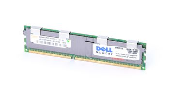 DELL 8GB 4Rx4 PC3-8500R DDR3 Registered Server-RAM Modul REG ECC - SNPM015FC/8G