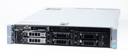 DELL PowerEdge R710 Server 2x Xeon X5550 Quad Core 2.66 GHz, 16 GB DDR3 RAM, 2x 1000 GB SAS 7.2K