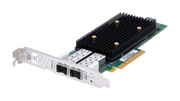NetApp QLE2672 Dual Port 16 Gbit/s SFP+ Fibre Channel Host Bus Server Adapter / FC HBA PCIe x8 - 111-00941+B0
