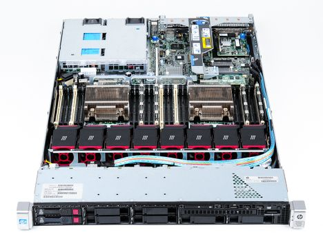 HP ProLiant DL360p Gen8 V2 Rack Server with 2x Xeon E5-2680 8-Core 2.70 GHz, 16 GB DDR3 RAM, 2x 300 GB SAS 10K – Bild 7