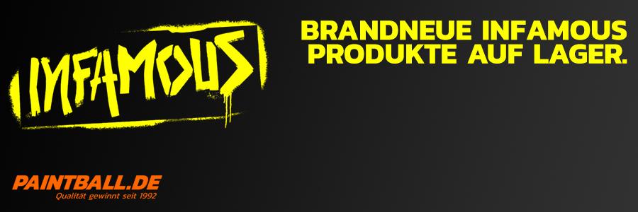 Brandneue Infamous Produkte auf Lager!