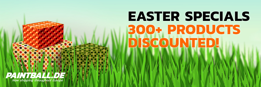 Paintball.de Easter Specials