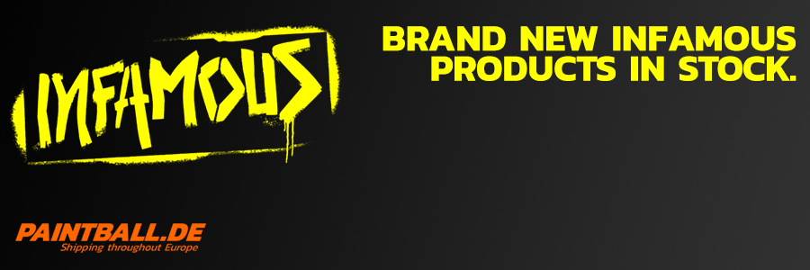 Brand new Infamous products in stock!