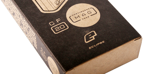 Planet Eclipse CF20 Magazine packaging.