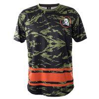 T-Shirt Dry Fit HK Army Mens Mr. H Bushmaster camo / orange