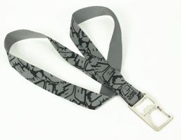 Lanyard with Bottle Opener Planet Eclipse, Fighter black / grey