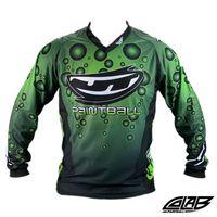 JT Retro Bubble Jersey green