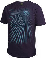 T-Shirt Planet Mens Capture purple