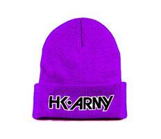 HK Army Typeface Beanie purple