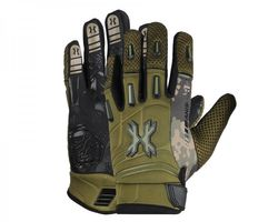 HK Army Pro Gloves Full Finger Camo olive