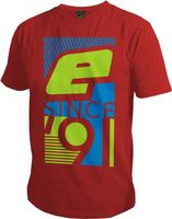T-Shirt Planet Mens Pro-Formance Since 91 red
