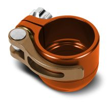 Planet Eclipse Low Rise Clamping Feed Neck for all Geo's and EGO LV1.5, orange / bronze