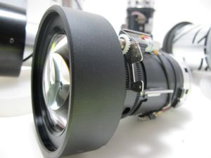 NEC NP04ZL Lens Projector Zoom LCD 3.1-4.9:1 – image 1