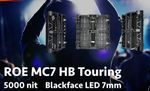ROE MC7 LED Package 10,8qm 16:9 6.000 Nit 7,5mm Pitch Outdoor Blackface 001