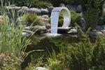 Ubbink® Mamba Design Wasserfall  aus Edelstahl für Pool und Gartenteich inkl. Zubehör 001
