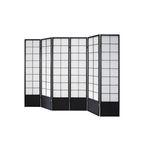 Paravent Hoshi Style 5 Black, Paravents by Cilios® 001