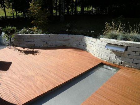 Ubbink® Design Wasserfall-Element Nevada 90 für Gartenteiche, Mauern und Kaskaden