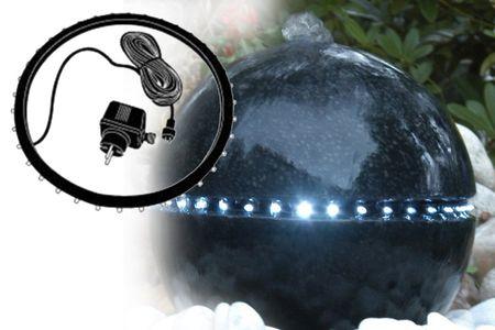 LED Ring 34 LEDS Ersatzteil 1418462 für Ubbink Wasserspiel Dubai umlaufende LED Beleuchtung weiß