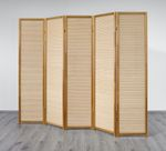 Paravent Nature Wood 5 Trennwand, Paravents by Cilios® 001