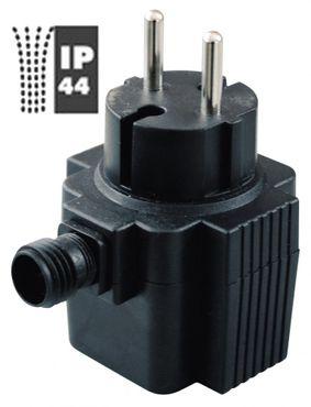 Outdoor Netzgerät bis 3 W - 12V - IP 44 für kleine LED Leisten u.a. passend für Ubbink oder Seliger