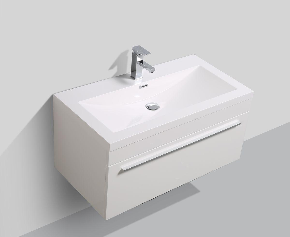 Badmöbel-Set T900 Weiß – Bild 3