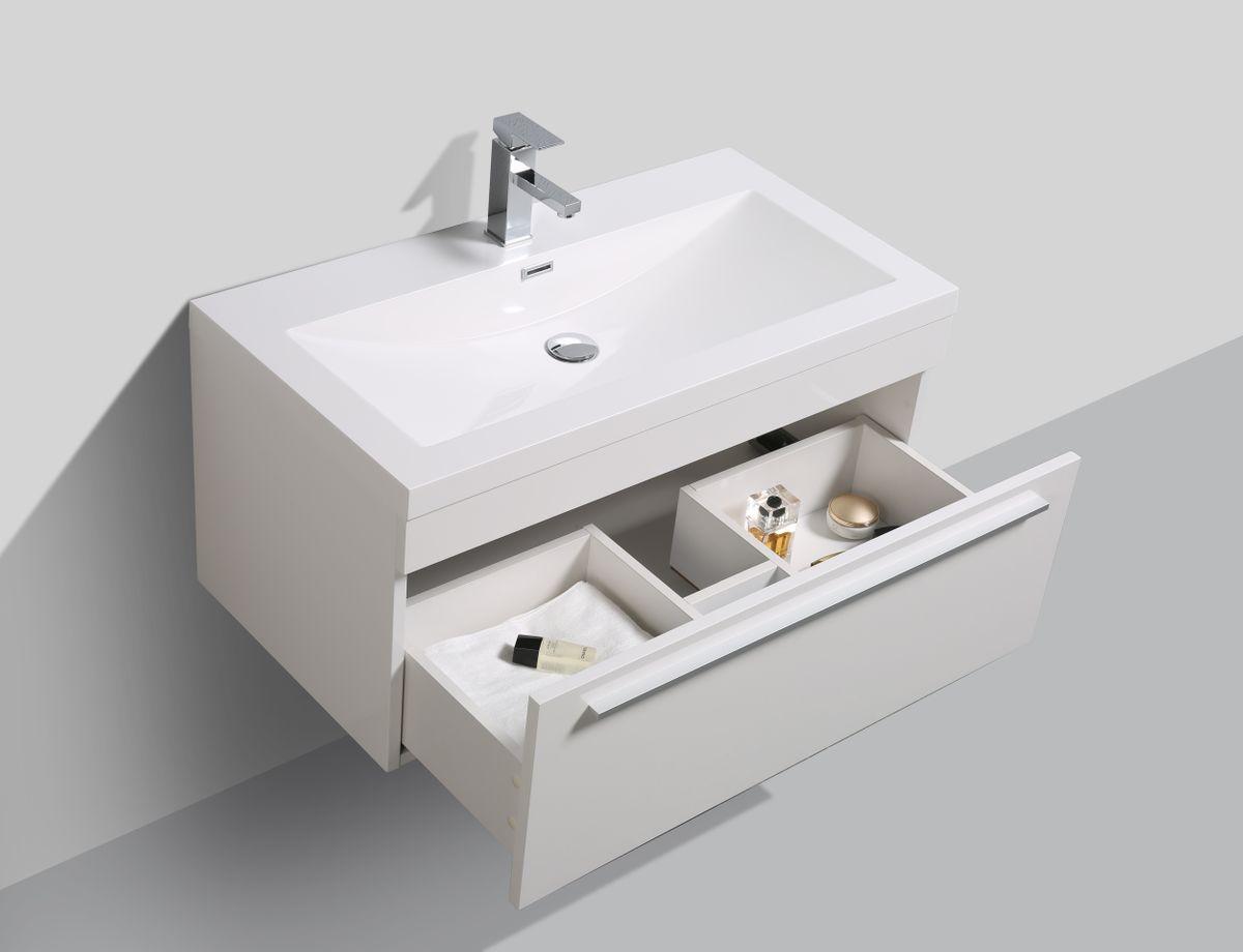 Badmöbel-Set T900 Weiß – Bild 4