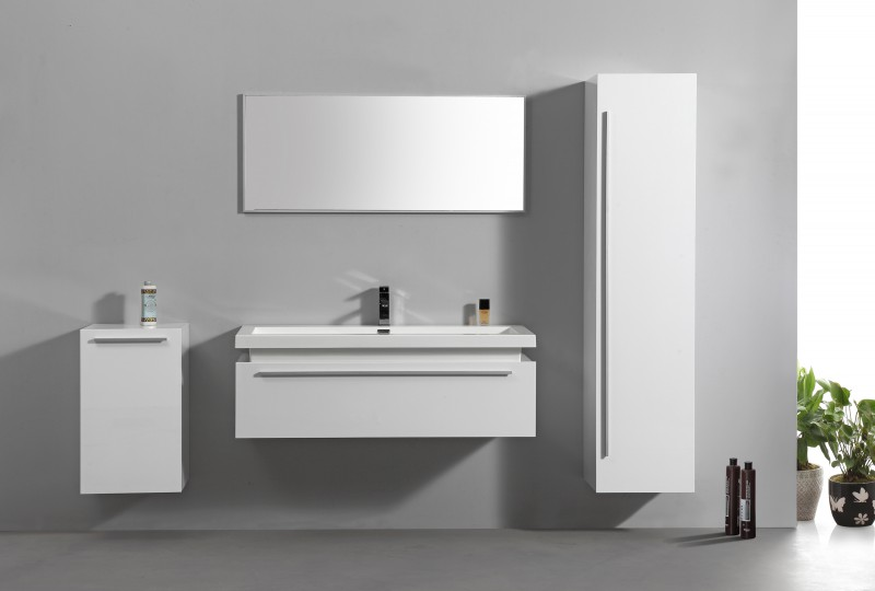 Moderne badezimmermöbel weiss  Badmöbel günstig online kaufen » Moderne Badezimmermöbel