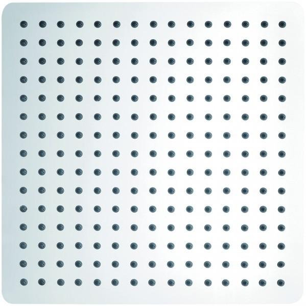 Tête de douche carrée, extra-plate en laiton chromé DPG2005 - 30x30cm