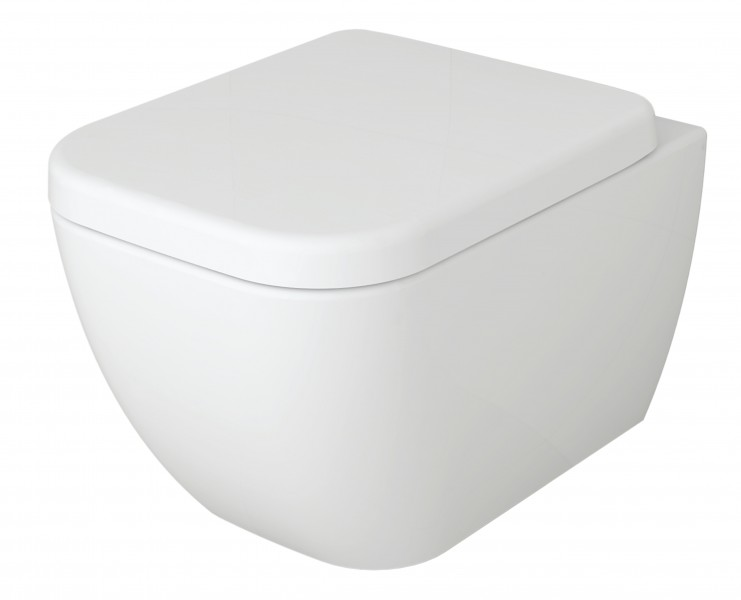 BERNSTEIN Luxus Wand-Hänge WC Toilette Softclose CH101 – Bild 2