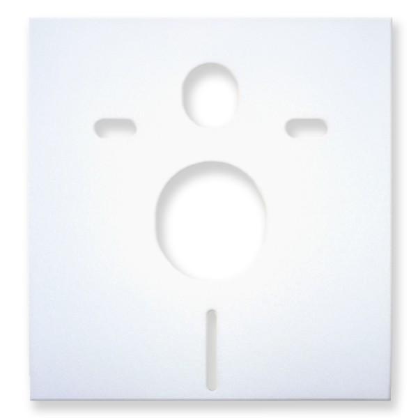 Schallschutzmatte für WC-Vorwandelement – Bild 1