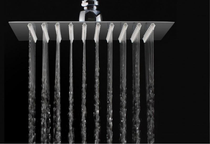Handdouche regeneffect DPG2023 - extra plat - 20 x 20 cm - verchroomd – Bild 1
