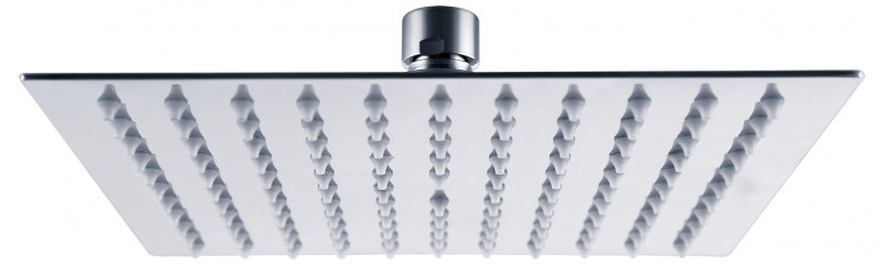 XXL rain shower stainless steel shower head FLAT SUPER DPG2023 - 20x20cm – Bild 2