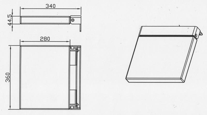 Duschklappsitz Duschsitz Duschhilfe 116N – Bild 5