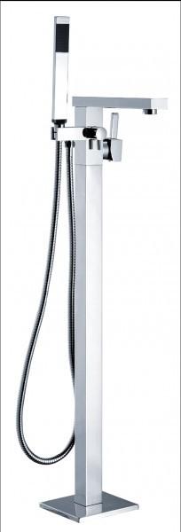 Freistehende Badewanne LUGANO Acryl weiß OMS-771 170 x 74 cm inkl. Ab-/Überlauf inkl. Armatur 1521 – Bild 7